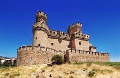 Замок Manzanares el реальный Стоковое фото RF