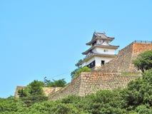 Замок Marugame в Marugame, префектуре Kagawa, Японии Стоковая Фотография