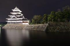 Замок Matsumoto в Matsumoto, японии Стоковое Фото