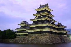 Замок Matsumoto в Matsumoto, японии Стоковые Изображения RF