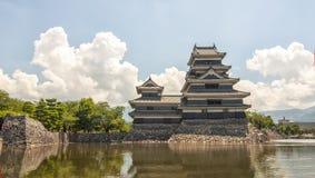 Замок Matsumoto, япония Стоковые Изображения