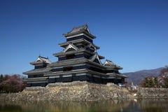 замок matsumoto Стоковые Фото