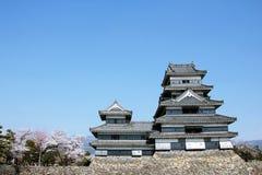 замок matsumoto Стоковая Фотография