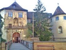 Замок Meersburg в Германии Стоковые Изображения