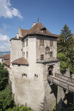 Замок Meersburg Стоковые Изображения