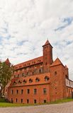 Замок Mewe (XIV c ) Teutonic заказа Gniew, Польша Стоковое Изображение RF