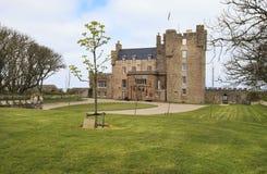 Замок Mey весной стоковая фотография