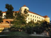 Замок Mikulov в южной Моравии Стоковая Фотография RF