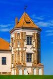 Замок Mir, Беларусь Стоковое Фото
