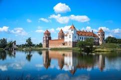 Замок Mir Стоковое Изображение