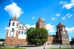 Замок Mir Стоковое фото RF