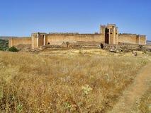 замок montalban Испания toledo Стоковые Фото