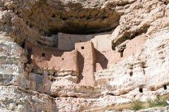 Замок Montazuma, Аризона Стоковая Фотография