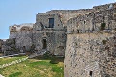Замок Monte Sant'Angelo. Puglia. Италия. Стоковое Фото