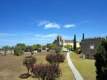 Замок Montemor-o-Velho Стоковые Изображения RF