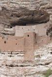 Замок Montezuma, вертикальный Стоковая Фотография