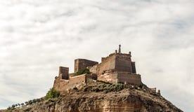 Замок Monzon Стоковая Фотография
