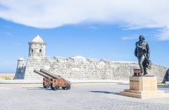 Замок Morro в Гаване, Кубе Стоковые Изображения RF