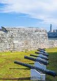 Замок Morro в Гаване, Кубе Стоковые Фото