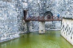 Замок Morro в Гаване, Кубе Стоковое Изображение RF