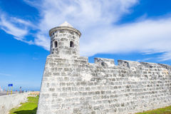 Замок Morro в Гаване, Кубе Стоковая Фотография RF