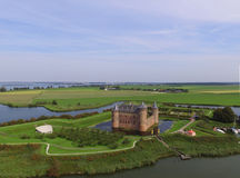 Замок Muiderslot Стоковая Фотография