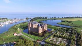 Замок Muiderslot Стоковое фото RF