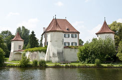 замок munich blutenburg Стоковые Фото