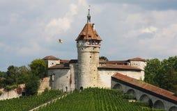 Замок Munot в Швейцарии Стоковое Изображение