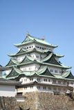 замок nagoya Стоковое Фото