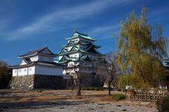 замок nagoya стоковые фото
