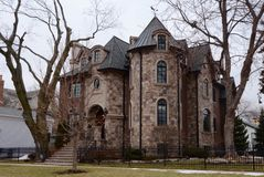Замок Naperville Стоковое Фото