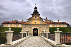 Замок Nesvizh Стоковые Изображения RF