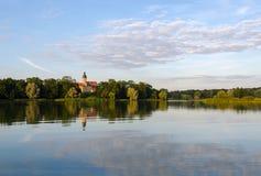 Замок Nesvizhsky, Беларусь Стоковая Фотография RF
