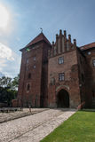 Замок Nidzica в Польше Стоковые Изображения RF
