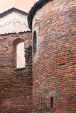 Замок Nidzica Польша старый Стоковая Фотография
