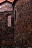 Замок Nidzica Польши старый Стоковая Фотография RF