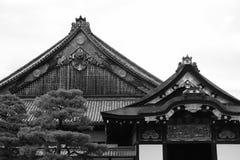 Замок Nijo, Киото, Япония стоковое изображение rf