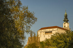 Замок Nitra Стоковое Изображение RF