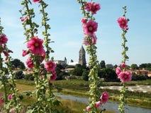 Замок Noirmoutier стоковая фотография