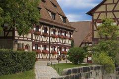 замок nuremberg Стоковая Фотография