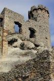 Замок Ogrodzieniec губит Польшу. Стоковые Фотографии RF