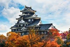 Замок Okayama или замок вороны в Okayama Стоковые Фото