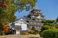 Замок Okayama или замок вороны в Okayama Стоковое фото RF