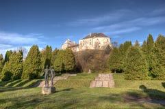 Замок Olesko стоковая фотография rf