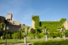 Замок Olite - Испании Стоковое фото RF
