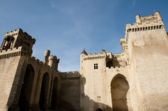Замок Olite - Испании Стоковое Фото
