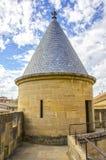 Замок Olite, Наварра Стоковое Изображение RF