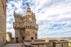 Замок Olite, Наварра Стоковое фото RF