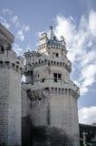 Замок Olite, Наварра Стоковые Фотографии RF
